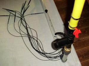 Tauchpumpenanschlußstück mit PVC verschraubung