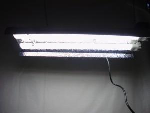 2 x 55 Watt 6500K TNeon Reflektor
